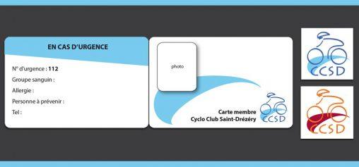 Création carte membre et logo
