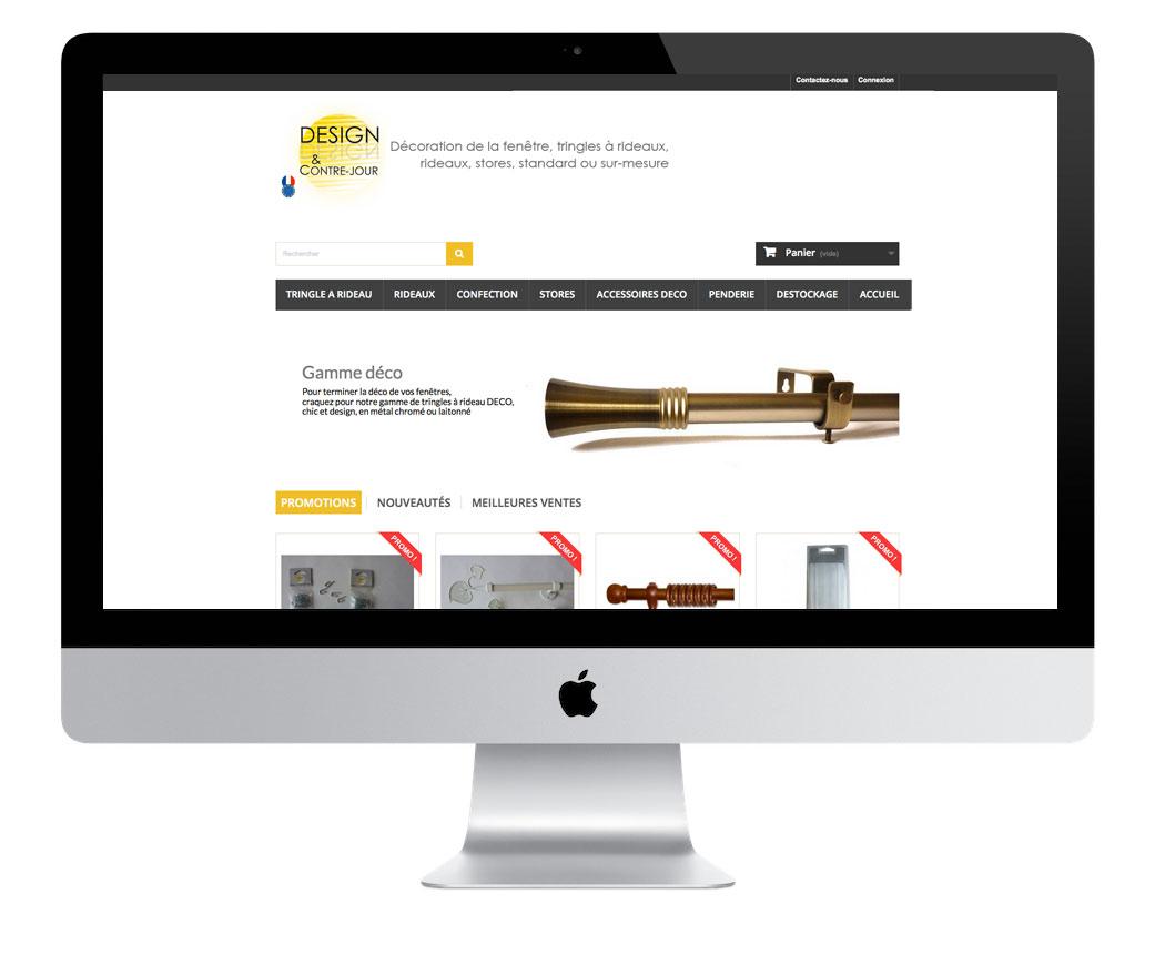 Création du site Design et Contrejour