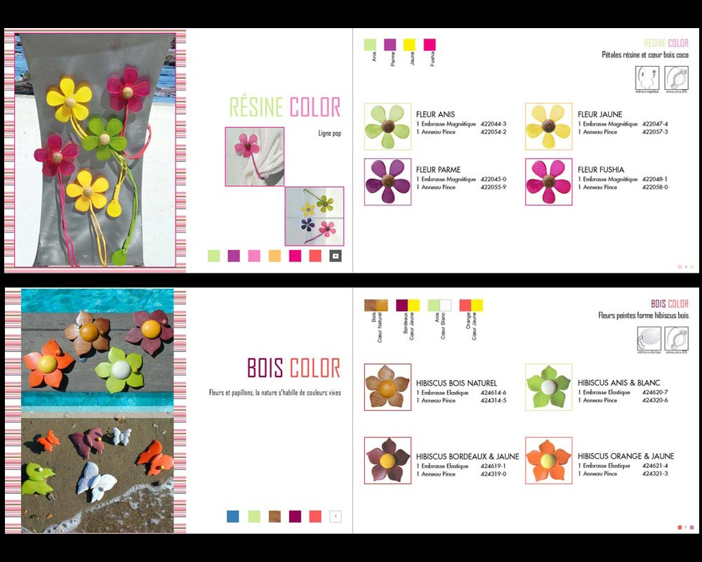 Catalogue 20 pages - A4 format paysage fermé
