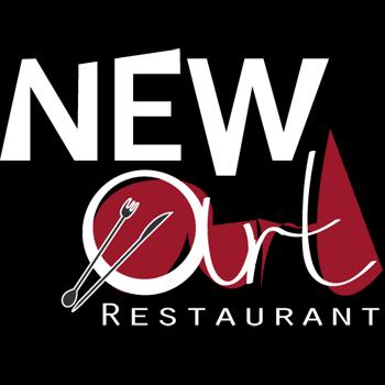 Logo restaurant projet New-Art