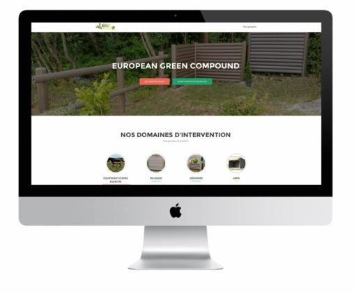 création du site EGC european green compound