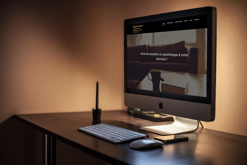 création site internet psychologue à domicile