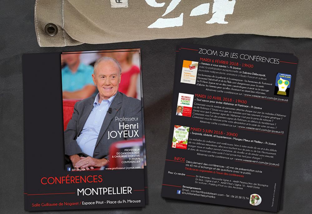 Flyer A5 recto-verso - Conférences Pr. Joyeux