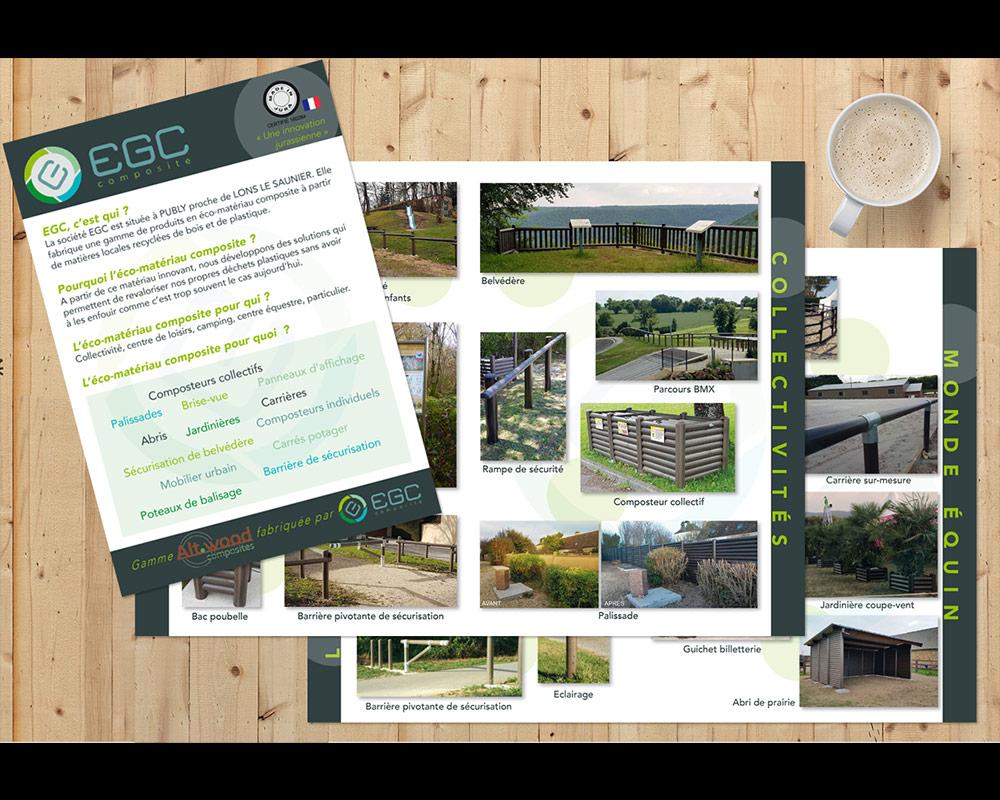 Brochure 8 pages - A5 fermé