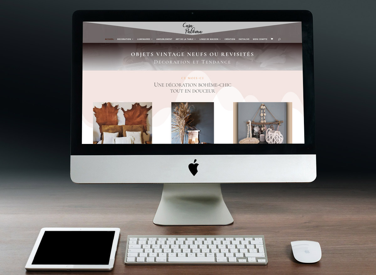 Casa Paloma - Objets vintage neufs ou revisités